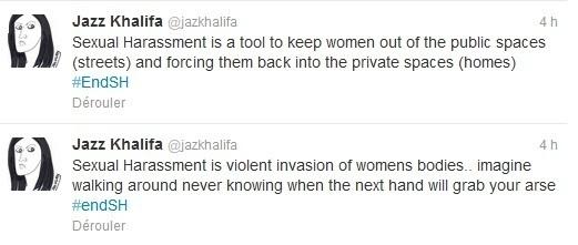 Twitter, nouvelle tribune des Egyptiennes contre le harcèlement sexuel