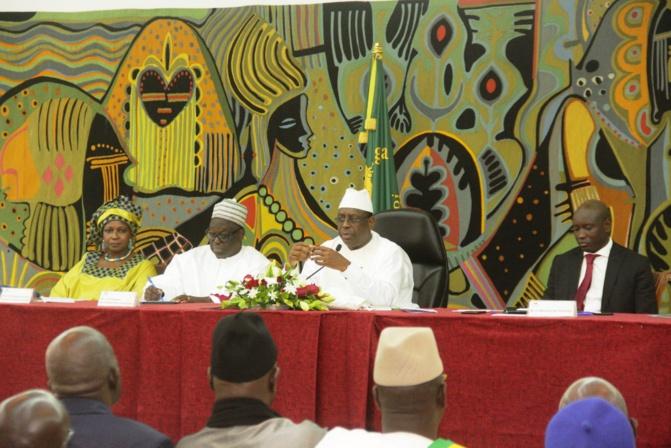 Covid-19 : Ousmane Sonko, Idrissa Seck et Khalifa reçus par Sall Macky Sall