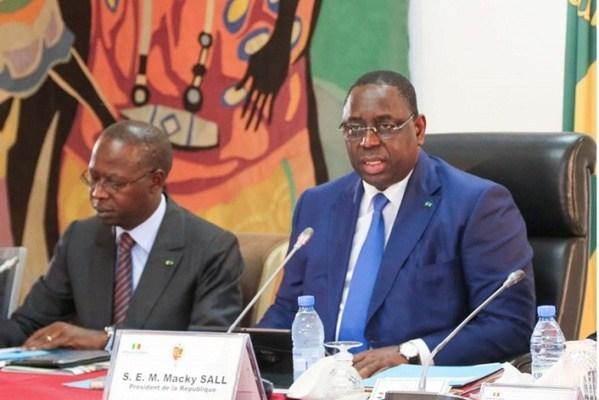 Discours de Macky Sall, président de la République du Sénégal
