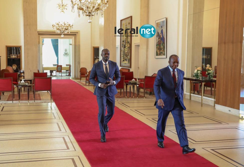 PHOTOS - Entretien du Président Macky SALL avec Monsieur Ousmane Sonko