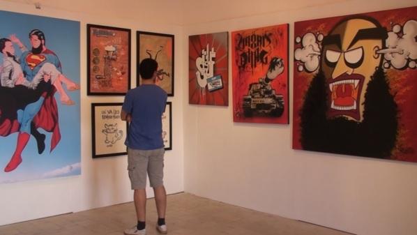 Tunisie - Les tableaux qui ont suscité l'ire des salafistes