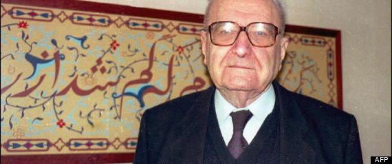 Roger Garaudy est mort: l'homme politique passé du communisme à l'islam et au négationnisme est décédé à 98 ans