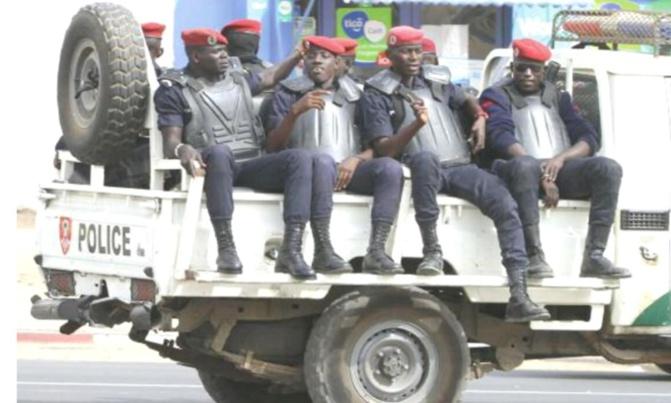 Non-respect du couvre-feu: La police avertit les récalcitrants