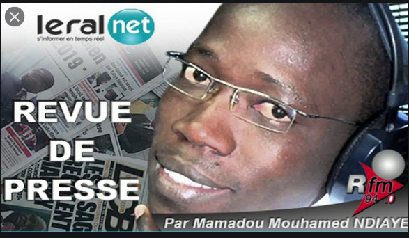 Revue De Presse RFM du Lundi 30 Mars avec Mamadou Mouhamed Ndiaye