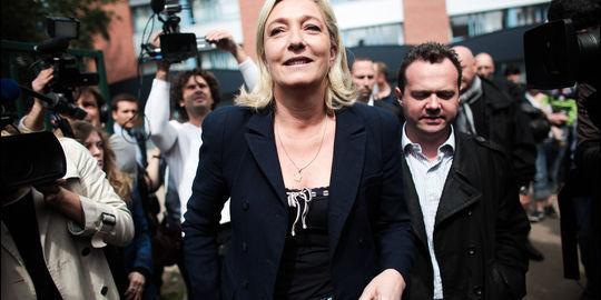 Marine Le Pen battue à Hénin-Beaumont, selon le PS