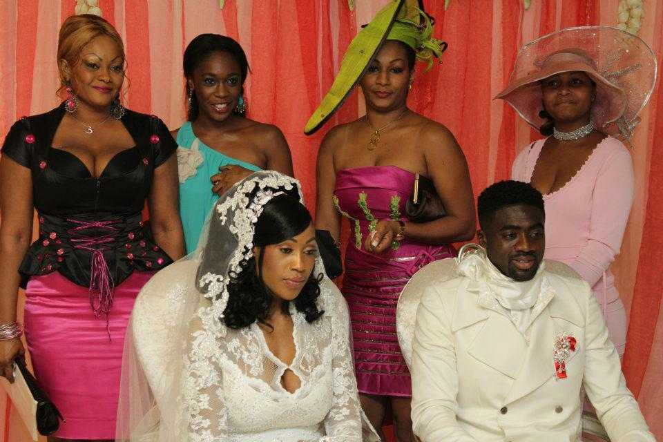 Le mariage du footballeur ivoirien Kolo Touré à Abijan