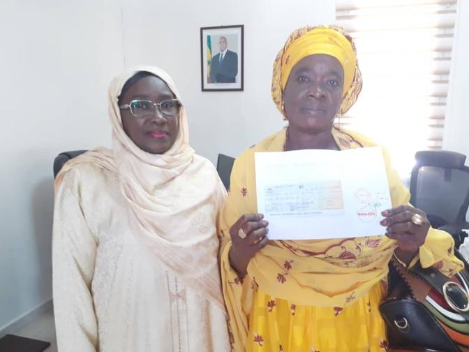 Lutte contre le C0vid-19: La plateforme des femmes And Jeggo donne une contribution de 1 000 000 FCFA