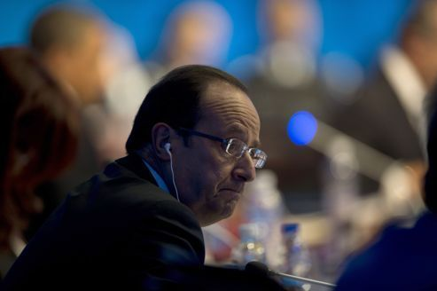 G20 : premières tensions à l'international pour Hollande