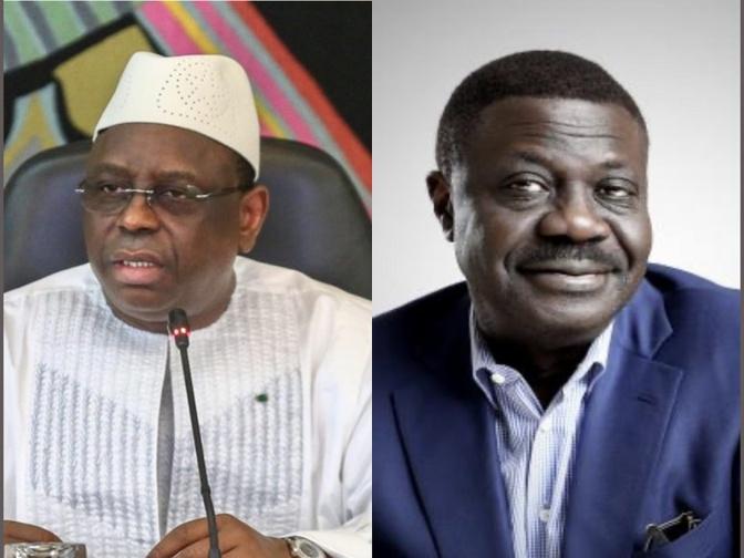 Décès de Pape Diouf: Le Président Macky Sall