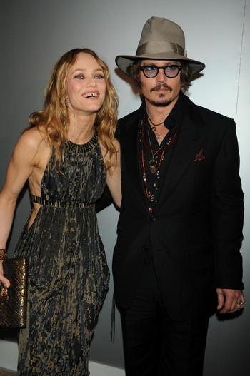 Entre Johnny Depp et Vanessa Paradis c'est officiellement terminé
