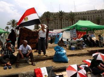 En Egypte, des partisans de Mohamed Morsi occupent toujours la place Tahrir