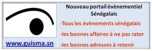 www.guisma.sn le nouveau portail évènementiel du Sénégal