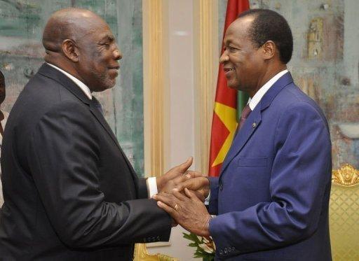 Le Premier ministre malien sollicite les conseils du Médiateur de la Cedeao Blaise Compaore