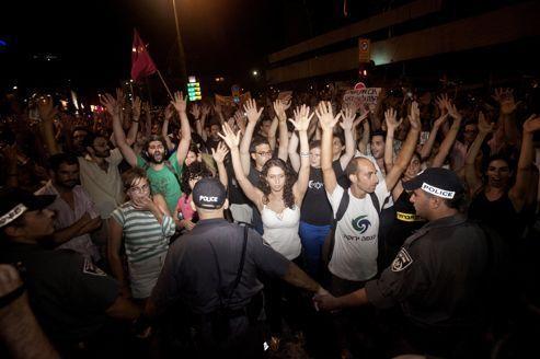 En Israël, une manifestation d'«indignés» dégénère