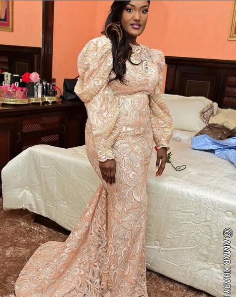 Sagnsé de la semaine: Admirez cette belle « Jongama », la fille de Ass Ndao, toute ravissante le jour de son mariage