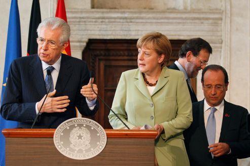 Monti demande la confiance sur la réforme du travail