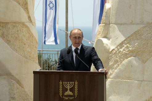 L'imposante visite de Vladimir Poutine en Israël