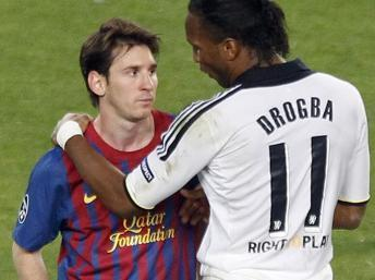 Didier Drogba arrive à Barcelone !