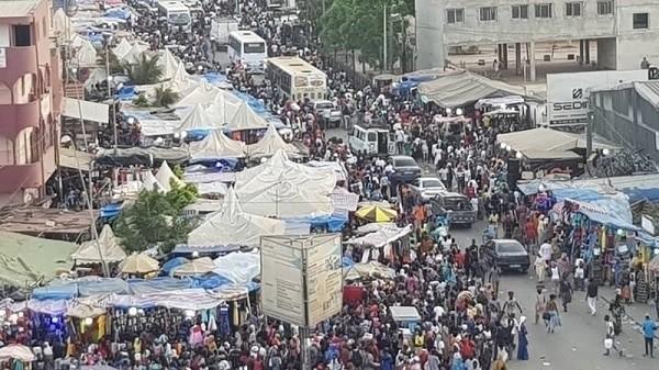 Rond-point de Keur Massar: 140 gendarmes mobilisés pour dégager les ambulants