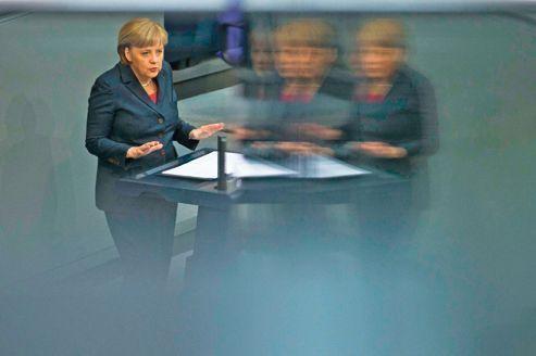 Euro : devant le Bundestag, Merkel reste intraitable