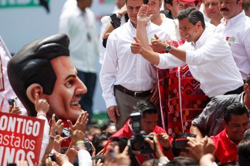 Mexique : le PRI favori de la présidentielle