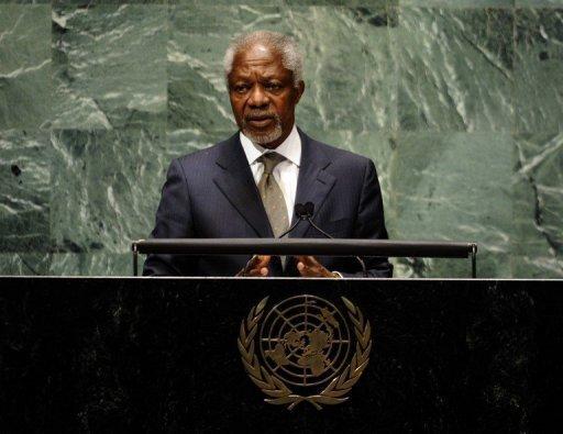 Syrie: Annan recommande une série d'étapes pour la transition démocratique