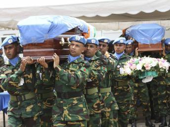 Côte d'Ivoire : les sept casques bleus nigériens sont tombés dans une embuscade
