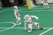 Les robots ont aussi leur mondial de football