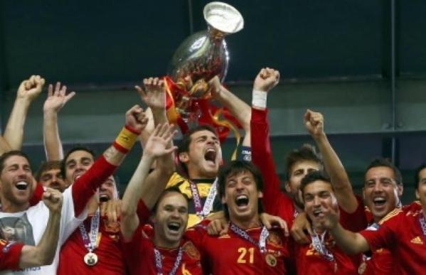 Euro 2012: Intouchable Espagne
