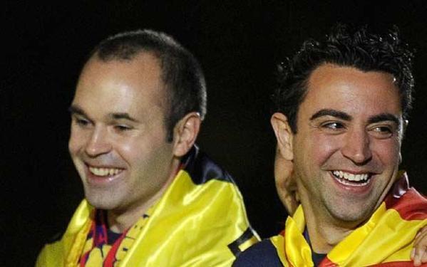 Euro 2012 : l'Espagne, Iniesta et Torres plébiscités par l'UEFA !