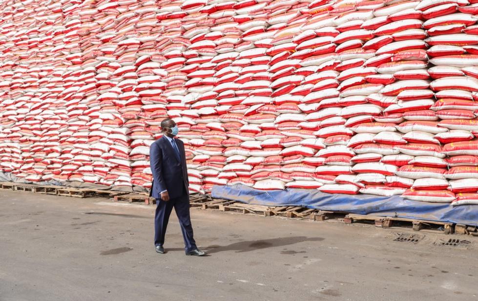 Réceptionné du 1er lot de vivres dans le cadre de l'aide alimentaire d'urgence