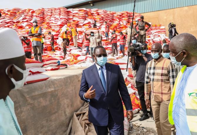 Aide alimentaire de 140 000 tonnes de denrées : prévue en 2 phases, la distribution terminée dans un mois
