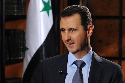Assad regrette la destruction de l'avion turc