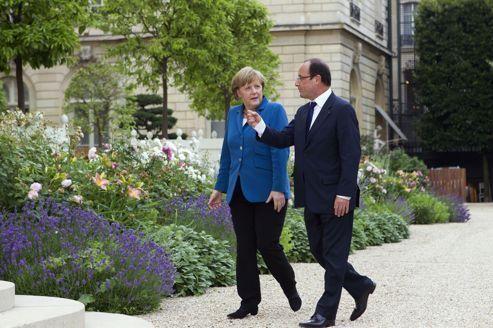 Hollande et Merkel veulent un «super monsieur Euro»