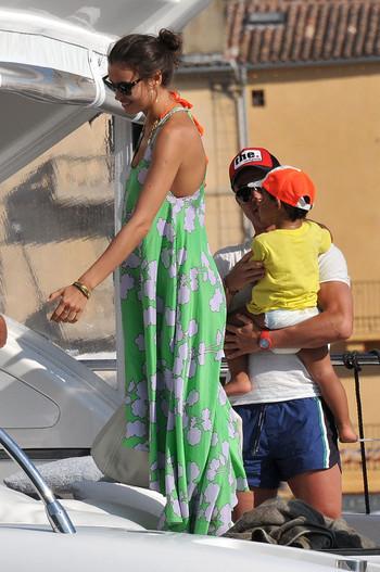 Cristiano ronaldo and irina shayk vacation