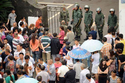 Les autorités de Shifang plient devant la «révolte verte»