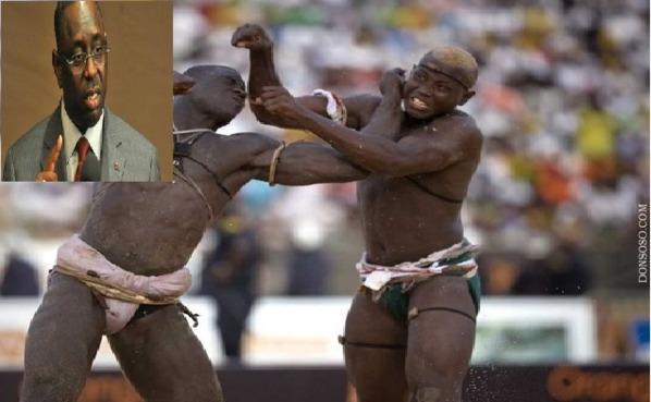 Macky Sall n'est pas contre la lutte avec frappe