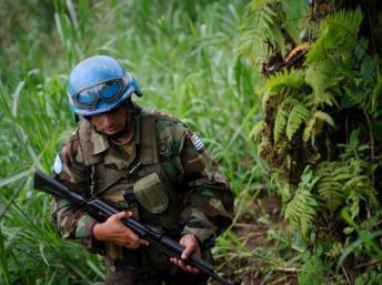 RDC : un casque bleu des Nations unies mortellement blessé dans la prise de Bunagana