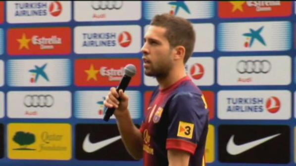 Jordi Alba, super star