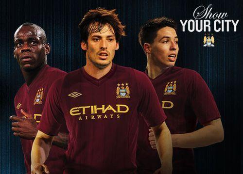 Le maillot extérieur 2012-13 de Man City débarque