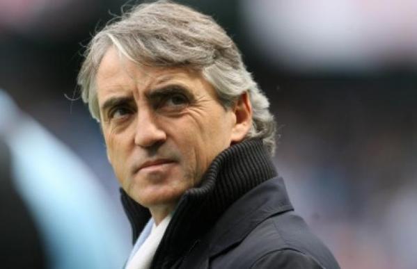 Mancini à Man. City jusqu'en 2017