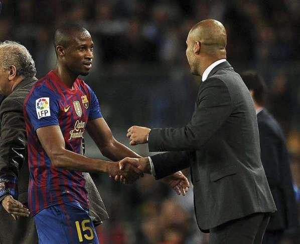 Seydou Keita dit au revoir au Barça