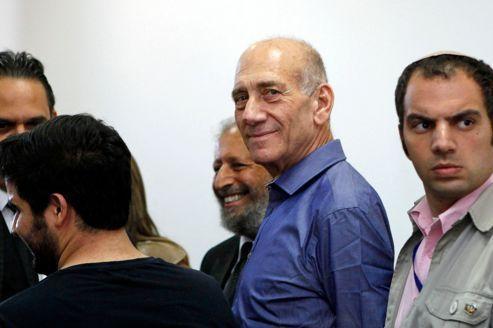 Un ex-premier ministre condamné en Israël