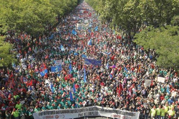 Affrontements sur fond d'austérité à Madrid