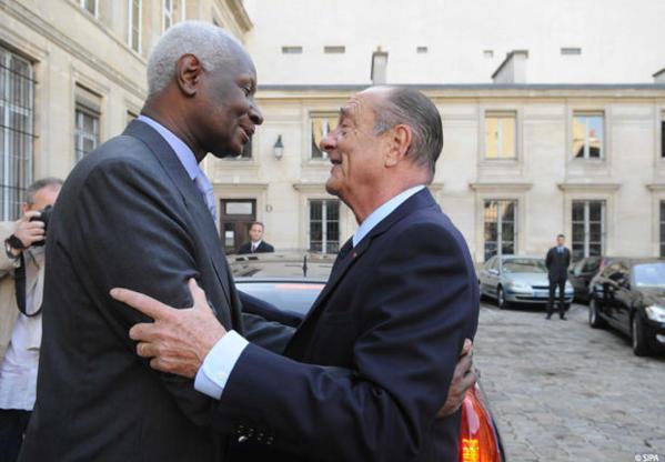 Abdou Diouf et Jacques Chirac lancent un appel en faveur du Mali