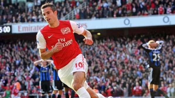 Arsenal abat sa dernière carte dans le dossier Van Persie