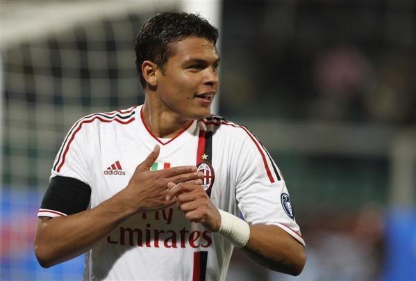 Le Milan AC rend hommage à Thiago Silva