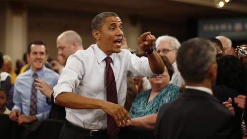 Un tirage au sort pour participer à la fête d'anniversaire d'Obama