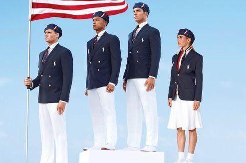 JO: les uniformes américains créent la polémique