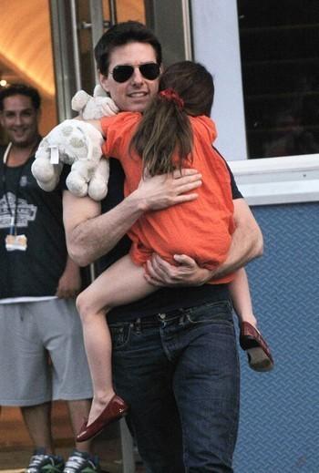 Photo : Tom Cruise et Suri réunis...